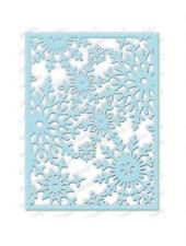 SNOWFLAKE BACKGROUND DIE-Impression Obsession/IO Stamps (DIE211-YY)-Steel/Wafer