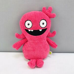 """Uglydolls Moxy Yours Truly Talking 10"""" Plush Pink Soft Toy Removable Sound Box"""