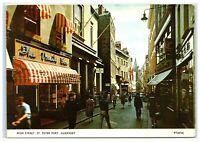 Vintage Picture Postcard High Street St Peter Port Guernsey