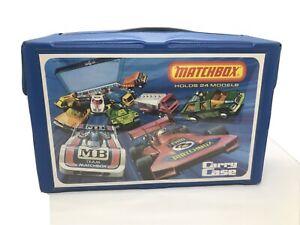 Vintage Matchbox Carry Case Holds 24 Models/cars