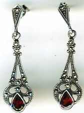 Marcasite Butterfly Unbranded Natural Fine Earrings