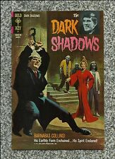 Dark Shadows #10 1971 Gold Key Barnabas Collins Tv Horror Famous Monsters