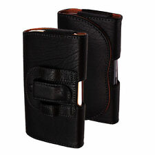 Plain Synthetic Leather Pouches/Sleeves for Samsung Mobile Phones