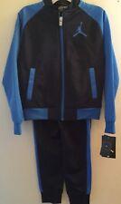Air Jordan Nike Boys Track Suit Set Jacket Pant Blue Sizs XS 3-4 Years