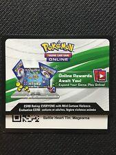 Pokemon TCG : XY BATTLE HEART TIN MAGEARNA EX XY175 Online Code Card