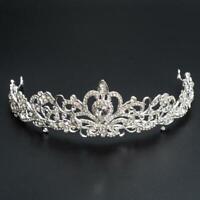 Princess Rhinestone Crown Bride Headwear Wedding Party Hair Accessories