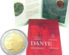 San Marino 2 Euro, 2015,  750th Anniversary of the Birth of Dante Alighieri