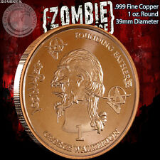 """New listing """"George Walkerton"""" 1 oz .999 Copper Round Part of the ApocalypeZe Series Limited"""