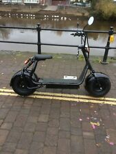 SINGLE SEATER BLACK OR BLUE FAT TYRE ELECTRIC(HARLEY/CITY CO CO/) SCOOTERS 1200W