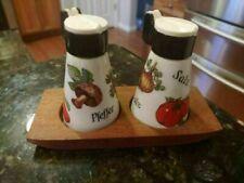 Gerold Porzellan Shakers Tray Set Salt Pepper Shaker Bavaria