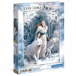 Clementoni Puzzle 1000 Teile Anne Stokes Winter Guardians                (39477)