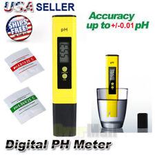 Portable Digital Electric PH Meter LCD Tester Hydroponic Aquarium Water Test Pen