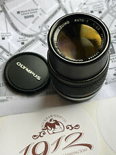 Olympus 135mm f3.5 Chrome Nose OM Zuiko lens ~ Excellent Condition