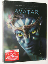 AVATAR (2009) 3D Blu-ray 2-Disc Hong Kong Exclusive Limited Edition Steelbook