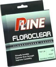 P-Line Floroclear Fluorocarbon Coated Fishing Line 8lb 300yd Clear FCCF-8
