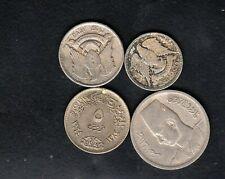 4 ARABIC COINS