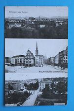 Polen AK Neisse Nysa 1913 Ortsansicht Ring Buttermarkt Friedrichstadt Straßen ++