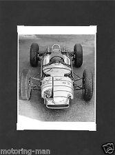 PORSCHE TYPE 804 A GUICHARD PHOTOGRAPH FOTO GRAND PRIX 1962 GUNTHER MOLTER