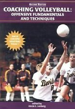 Coaching Volleyball: Offensive Fundamentals And Techniques; Best of-ExLibrary
