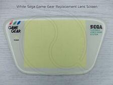 Nueva pantalla de reemplazo de Sega Game Gear Blanco Cubierta de Lente GG vivienda Parte