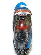 SPIDER-MAN 3 MARVEL LEGENDS TITANIUM SERIES DIE-CAST HASBRO MOC 2007