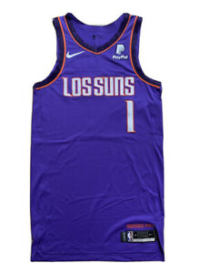 Nike NBA Devin Booker Phoenix Suns 18/19 City Team Issued Authentic Jersey