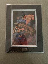 Fantastic Four Jim Lee Series Animation Cartoon Cel Lasermach Marvel Comic book