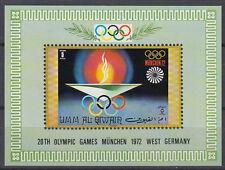 Umm al qiwain 1971 ** bl.33 juegos olímpicos Olympic Games