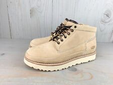 UGG CAMPFIRE TRAIL SUEDE SHEEPSKIN MENS BOOTS SIZE US 10 NEW