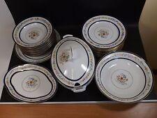 Service en Porcelaine D'art, Paul Pastaud à Limoges, modèle Sèvres, 24 pièces