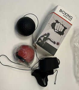 BOXING REFLEX BALL BOXING FIGHT BALL ON STRING HEADBAND PUNCHING BALL EXCERCISE