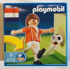 Playmobil Soccer 4713 NETHERLANDS Football Soccer Player World Cup Figure