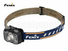 Fenix HL32R Cree XP-G3+Nichia Red 600lm LED Rechargeable USB Head Torch Grey