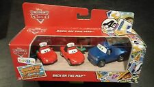 DISNEY PIXAR CARS BACK ON THE MAP HANK HALLSUM RSC 3 PACK SAVE 5% WORLDWIDE FAST