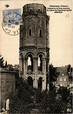 CPA Charreau - Ruines de la Tour centrale du choeur de l'ancienne eglis (365899)