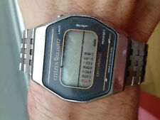 Citizen CRYSTRON LC Vintage WATCH (1977)4-098225 TA NOT WORKING FOR PIECES JAPAN