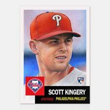 Topps Living Set Scott Kingery Card #40  Philadelphia Phillies RC ROOKIE CARD