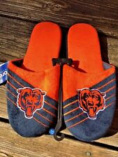 CHICAGO BEARS Loafers Slippers Casual Bedroom BRAND NEW Mens Shoes Sz 11 12