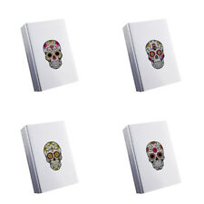 Fashion Personality Skull Tobacco Cigarette Holder Storage Case Box Container