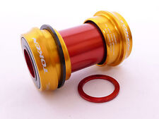 Mr-ride Token BB Bottom Bracket CUPSET / Bb30 Frame SRAM Crank Set Bb30ar Gold