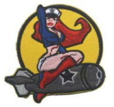Morton Home-Pinup Girl Bombing Patch