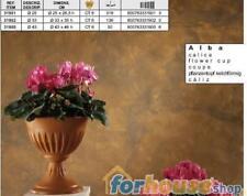 Calice alba 25cm con piede 31901 bama vaso fiori con piede alba 31cm