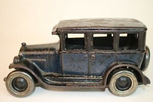 Arcade Toys, Cast Iron 1928 Chevrolet Sedan, Nice Original