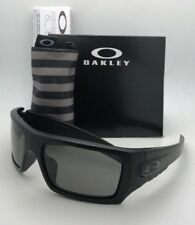 OAKLEY INDUSTRIAL DET-CORD Safety glasses OO9253-10 Black USA Flag w/ Grey Z87.1