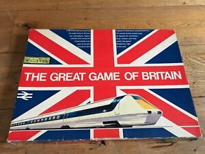 The Great Game of Britain Vintage Board Game (Complete) 1973