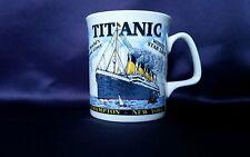 Taza De Porcelana China. Titanic Conmemorativa Decorada Mano en Gales Regalo