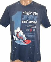 Men's Golden Breed Shredders Surf Tee T-Shirt. Size S - XXL. NWT, RRP $29.95.