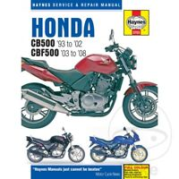 Honda CBF 500 2004-2005 Haynes Service Repair Manual 3753