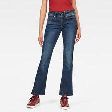 G-Star RAW Neu Damen Midge Bootcut Jeans