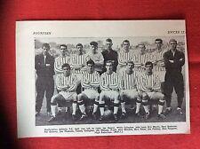 m2t ephemera 1967 football article dunfermline athletic f c team line up